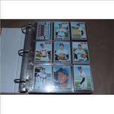 baseball photo album topps baseball cards collecting album property room