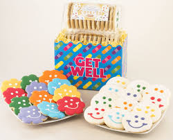 cookie basket delivery get well flower cookie baskets get well cookies