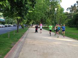 Map Running Routes by Running Routes Melbourne Tan Track Running Route