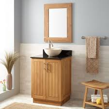 Narrow Bathroom Vanities by Bathroom Cabinets Teak Vanity Cabinet Vessel Teak Bathroom