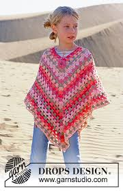 drops design poncho drops 89 6 free crochet patterns by drops design