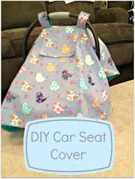 Carseat Canopy For Boy by Diy Car Seat Cover Tutorial