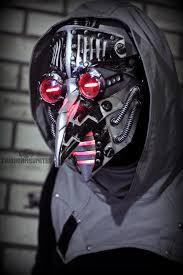 plague doctor masks temporal catharsis cyber plague doctor mask by twohornsunited on