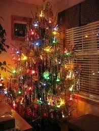 vintage christmas tree lights old fashioned christmas tree reminds me of my grama gra s tree