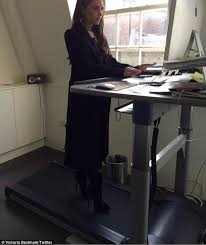 Standing Desk Treadmill Are You Sitting Down Study Finds Treadmill Desks Don U0027t Help You