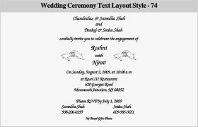 Engagement Ceremony Invitation Wedding Ceremony Invitation Wording Vertabox Com