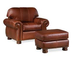 leather chair and a half with ottoman benjamin chair and a half leather thomasville furniture