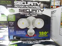 led wireless motion sensor light costco led outdoor security floodlight costco outdoor designs