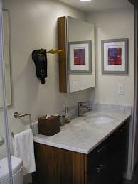 medicine cabinet or plain mirror