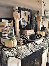 halloween mantel great halloween fireplace mantel decorating