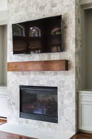 your fireplace wall u0027s finish consider this important detail with