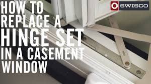 Casement Window by How To Replace A Hinge Set In A Casement Window 1080p Youtube