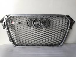 audi rs4 grill audi a4 s4 b8 5 facelift grill convert rs4 grille car