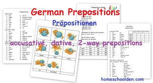 german prepositions u2013 präpositionen u2013 accusative dative and 2 way