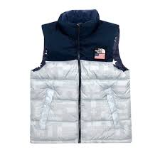 Flag Za The North Face M Ic Nuptse Vest High Rise Grey Flag
