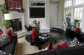Elegant Living Rooms That Are Richly Furnished  Decorated - Animal print decorations for living room
