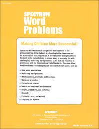 spectrum word problems grade 8 026383 details rainbow resource