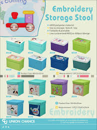 Childrens Ottoman by Storage Ottoman Cover A Square Ottoman Toy Storage Box Make Your