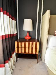 eclectic black and red master bedroom evaru design hgtv