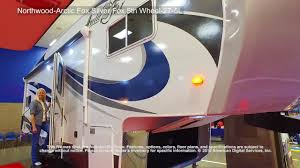 northwood arctic fox silver fox 5th wheel 27 5l youtube