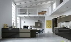 Loft Kitchen Ideas 49 White Loft Kitchen Interior Design Ideas