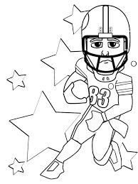 football coloring pages printable fleasondogs org