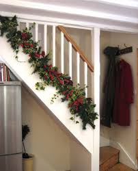 garland for stairs stair