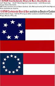 Star Flags Confederate Items