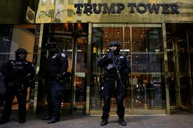 trump tower new york address trump holes up in tower as transition takes shape pbs newshour