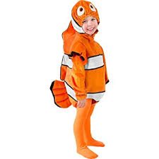 Halloween Costume 3t Amazon Child U0027s Toddler Nemo Costume Size 2 3t Toys U0026 Games