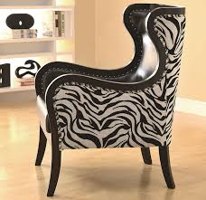 Leopard Print Accent Chair Zebra Print Accent Chairs Inspired Zebra Print Furniture