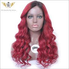 hair lace wig picture more detailed picture about 6a red ombre