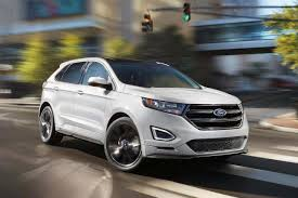 2018 ford edge sport suv model highlights ford com