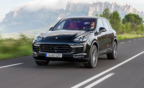 Black Porsche Cayenne - 2015 porsche cayenne turbo first drive u2013 review u2013 car and driver