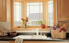 kitchen bay window treatment ideas home design inspirations