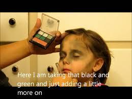 Kids Halloween Zombie Makeup Easy Zombie Tutorial Youtube