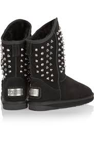 australia luxe s boots australia luxe collective s pistol studded shearling lined