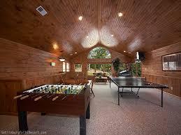 Big Game Room - gatlinburg cabin the big kahuna 9 bedroom sleeps 32
