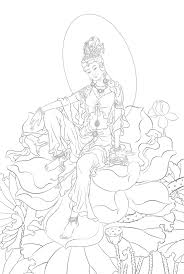 buddha sketch flickr