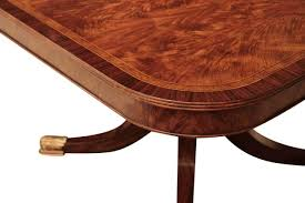 mahogany dining room table 12 foot mahogany dining table with self storing leaves seats 14