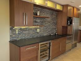 kitchen cabinets aluminum glass door modern walnut aluminum glass kitchen beautiful