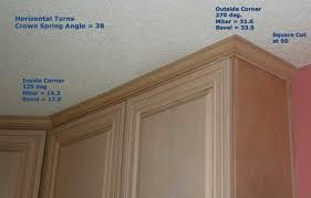 how to cut crown molding for kitchen cabinets how to cut crown molding for cabinets docomomoga