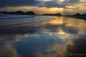 La playa del Ris, esa que tanto le gusta a Karlos.