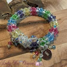 bead wire bracelet images Krafty max original hand beaded jewelry and art creations jpg