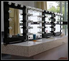 hair and makeup station profession aluminum framed hair salon mirror salon mirror station