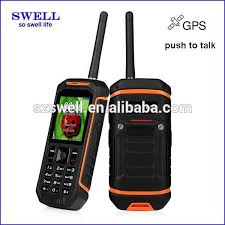 Rugged Cell Phones Alibaba China Swell X6 Ptt Push To Talk Walkie Talkie Waterproof