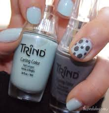 simple nail art with trind this bird u0027s day