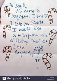 santa claus letters a letter to santa claus as the united states postal service usps