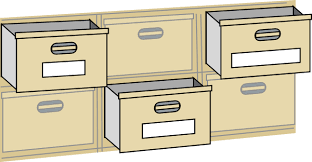 Free Filing Cabinet Furniture File Cabinet Drawers Clip Art Free Vector 4vector