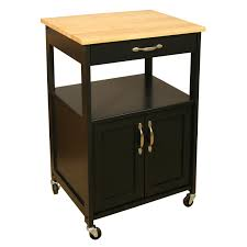 Kitchen Trolley Ideas by Furniture Natural Wood Microwave Carts With Storage Cabinet For